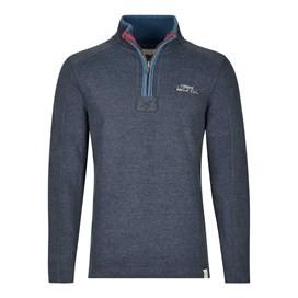 Geonre 1/4 Neck Zip Sweatshirt Black Iris