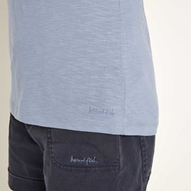 Beeches Cotton Vest Top Light Denim