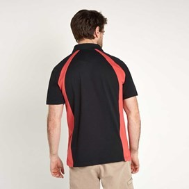 Wicken Sporty Breathable Polo Shirt  Baked Apple