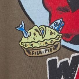 Desperate Clam Artist T-Shirt Mushroom