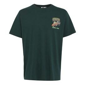Dukes Of Haddock Artist T-Shirt Evergreen