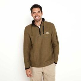 Parkway Deluxe Tech Macaroni Sweatshirt Military Olive