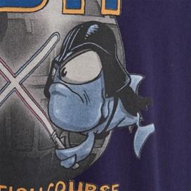 Fish Course Artist T-Shirt Rich Navy