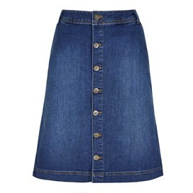 Vixey Denim Skirt Denim