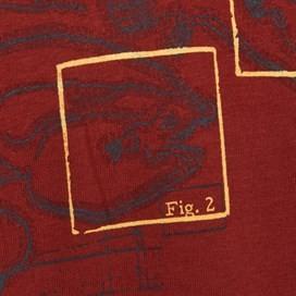 Fishbait Graphic Print T-Shirt Paprika