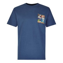 Findaloo Artist T-Shirt Ensign Blue