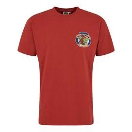 Cod Goblin Artist T-Shirt Ketchup Red