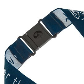 Weird Fish Lanyard Blue