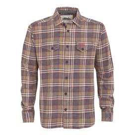 Dawn Long Sleeve Check Shirt Slate