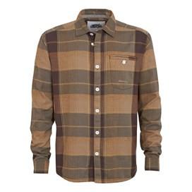 Dusk Long Sleeve Check Shirt Mushroom