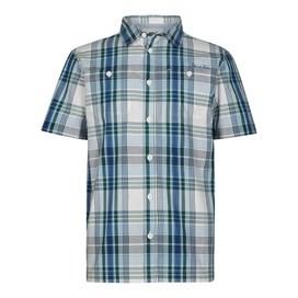Farley Short Sleeve Check Shirt Forest Green