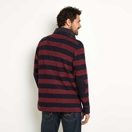 Chamonix Striped Macaroni Rugby Top Conker