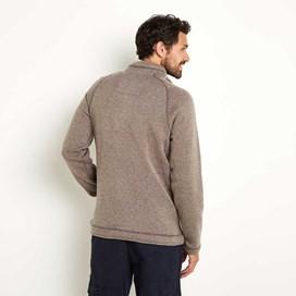 Owlbar 1/4 Soft Knit Fleece Top Mushroom