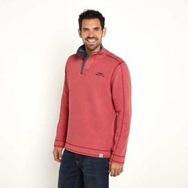 Genie Button Neck Sweatshirt Baked Apple