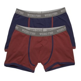 Bressay 2 Pack of Boxers Medieval Blue