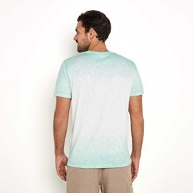 Hold Tight Dip Dye Graphic Print T-Shirt Sage