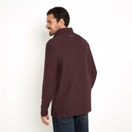 Cruiser Classic ¼ Zip Macaroni Sweatshirt Mulled Wine