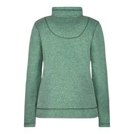 Bluebell 1/4 Zip Soft Knit Fleece Top Fir Green