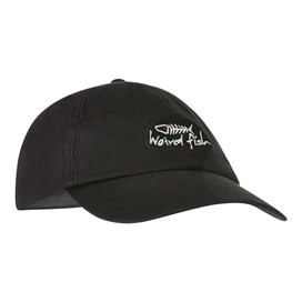 Retro Baseball Cap Washed Black