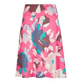 Malmo Printed Jersey Skirt Hot Pink