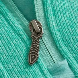 Vogel 1/4 Zip Soft Knit Fleece Spearmint