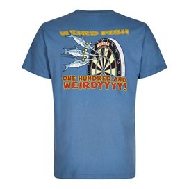 Hundred & Weirdy Artist T-Shirt Washed Blue