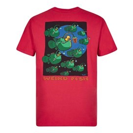 Anglers Artist T-Shirt Barberry Red