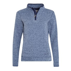 Vogel 1/4 Zip Soft Knit Fleece Ink