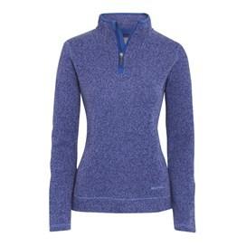 Vogel 1/4 Zip Soft Knit Fleece Mid Blue