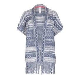 Samhadi Knitted Kimono Cardigan Denim