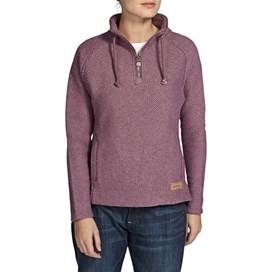 Geranium 1/4 Zip Classic Macaroni Sweatshirt Lavender