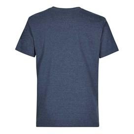 WF Surplus Graphic Print T-Shirt Moonlight Blue Marl