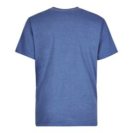 WF Surplus Graphic Print T-Shirt Vintage Blue Marl