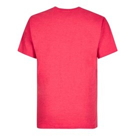 Downhill Racing Graphic Print T-Shirt Barberry Red Marl