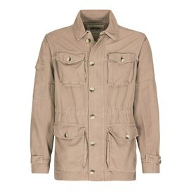 Highbrow 4 Pocket Jacket Taupe Grey