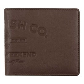 Molten Leather Wallet Brown