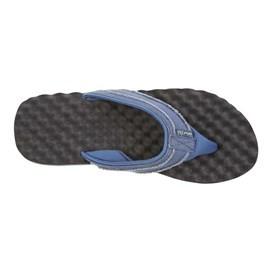 Knider Waffle Sole Flip Flop Vintage Blue