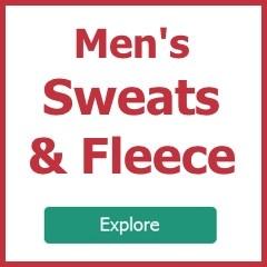 Explore men's sweatshirts