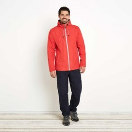 Prescott Fully Waterproof Hooded Jacket Radical Red