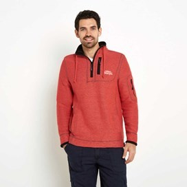 Parkway Deluxe Tech Macaroni Sweatshirt Radical Red