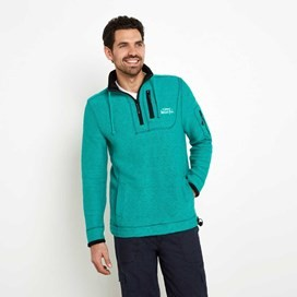 Parkway Deluxe Tech Macaroni Sweatshirt Bright Green