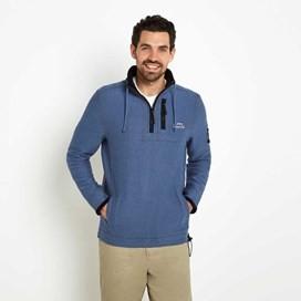 Parkway Deluxe Tech Macaroni Sweatshirt Vintage Blue