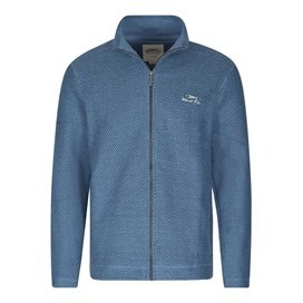 Sickle Full Zip Macaroni Sweatshirt Ensign Blue