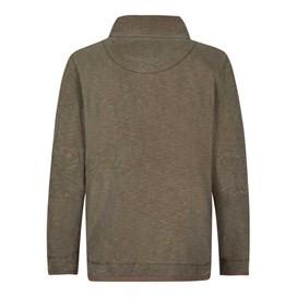 Meuli 1/4 Zip Pique Sweatshirt Cola