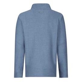 Cruiser Classic ¼ Zip Macaroni Sweatshirt Washed Blue