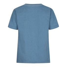 Skatefish Graphic Print T-Shirt Washed Blue Marl