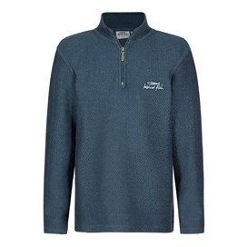 Texas Boy's 1/4 Zip Macaroni Moonlight Blue