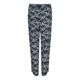 Nimbus Lightweight Printed Harem Trouser Midnight