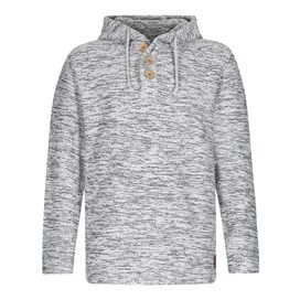 Stock Jarse Soft Knit Hoodie Soft Grey