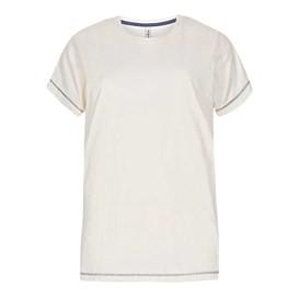 Buttercup Embroidered T-Shirt Light Cream